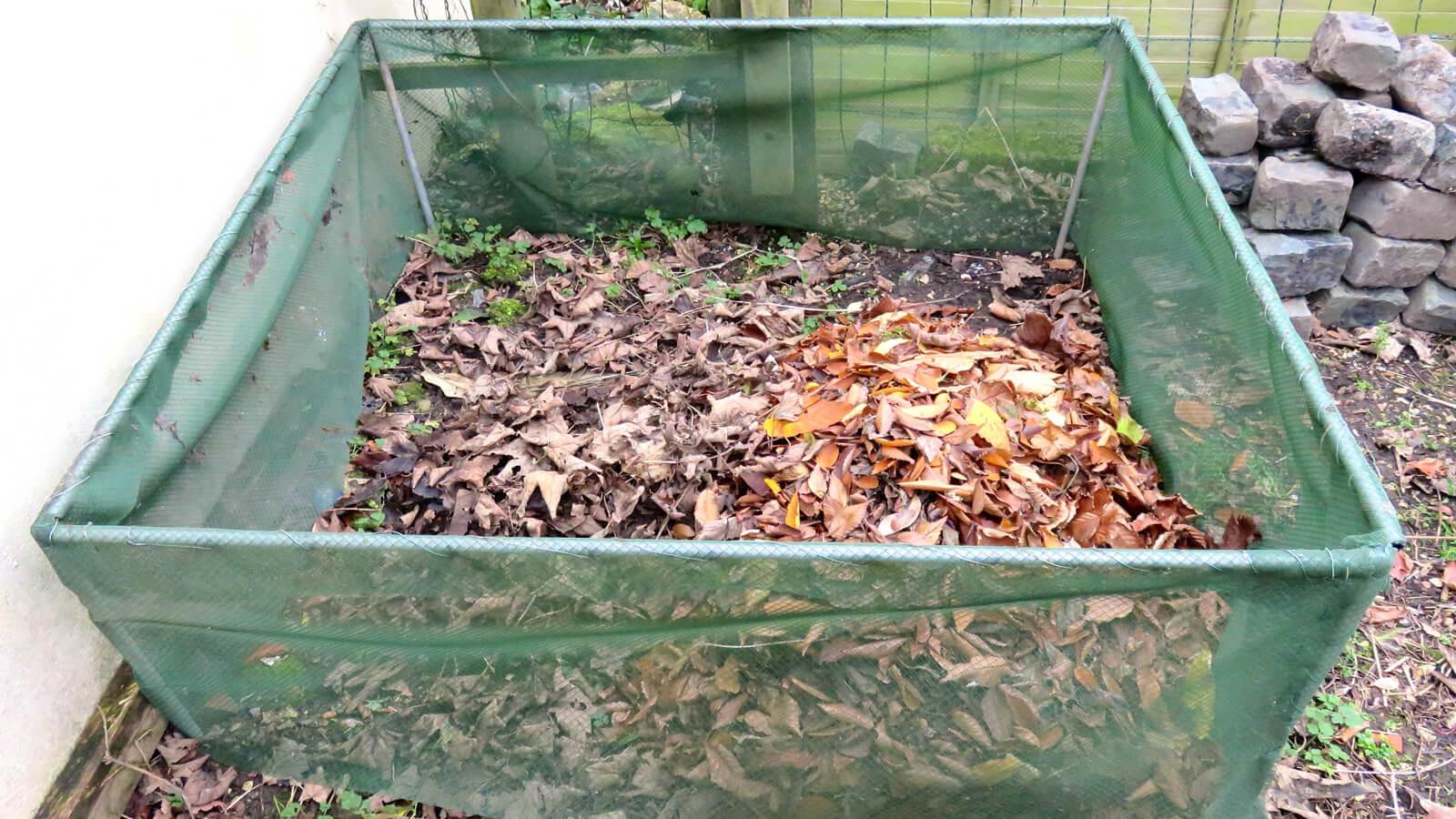 Листья для компоста
