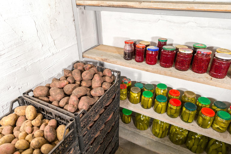 Хранилище для овощей