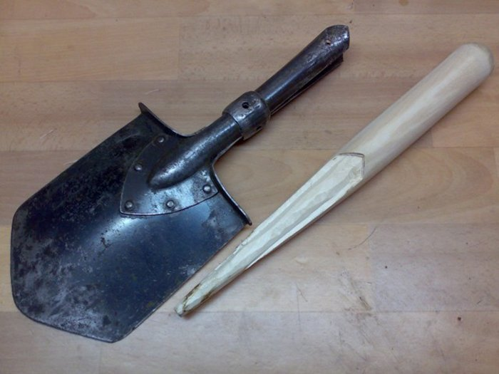Новый черенок дешевле чем новая лопата