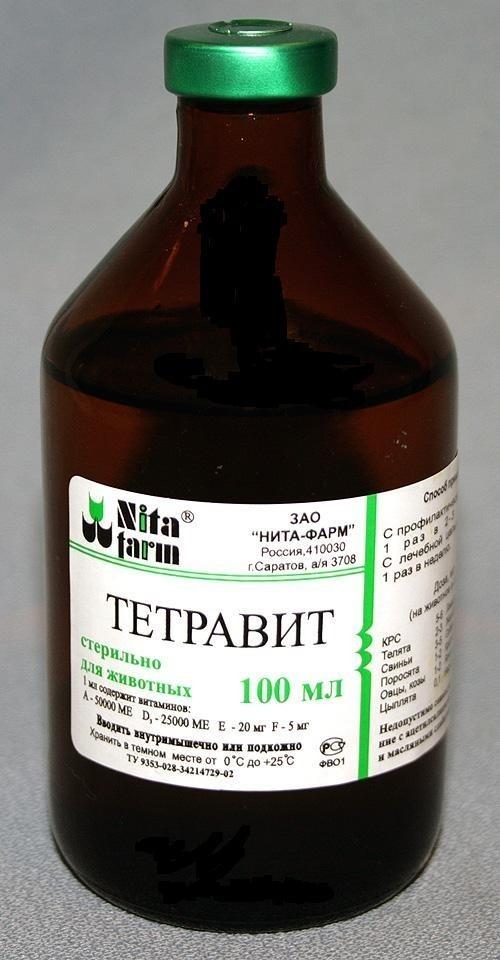 Тетравит — комплексный препарат, содержащий жирорастворимые витамины