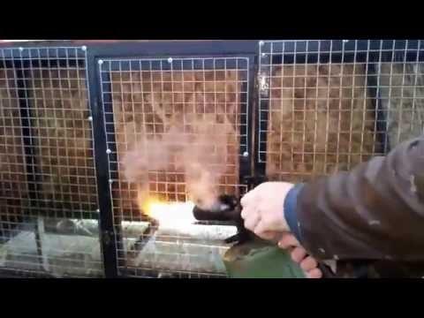 Обработка огнем