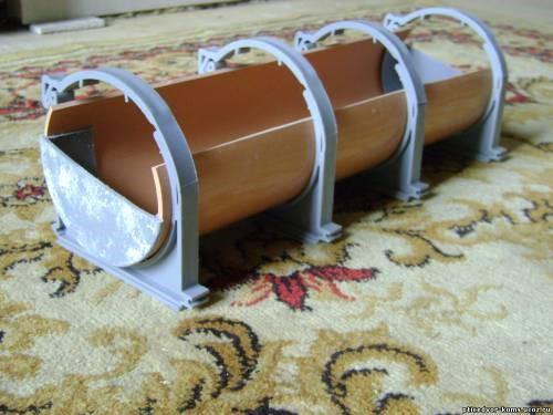 Кормушка для поросят из трубы