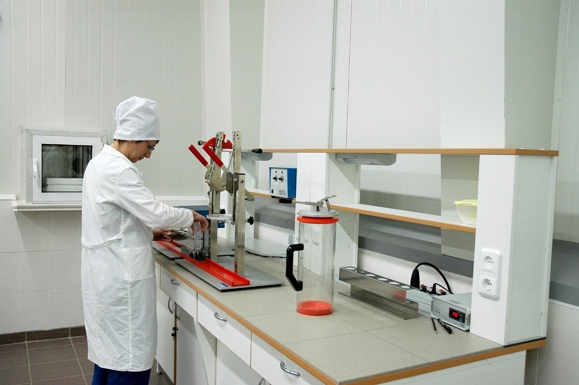Лаборатория станции искусственного осеменения