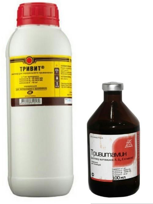 Тривит и Тривитамин