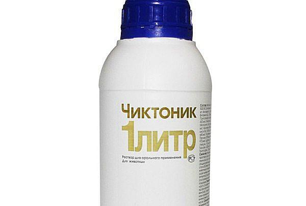 Чиктоник также выпускается в белых полимерных банках, укупоренных крышками