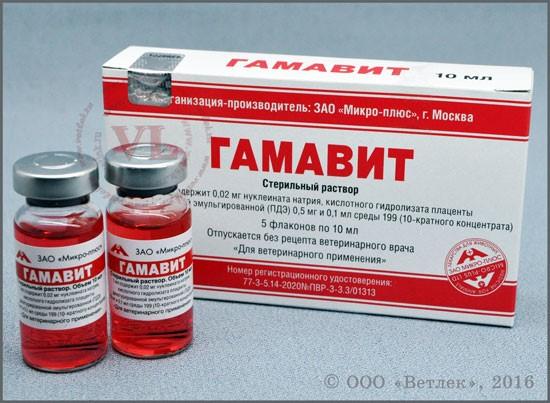 Гамавит — комплексный витаминный препарат для птицы