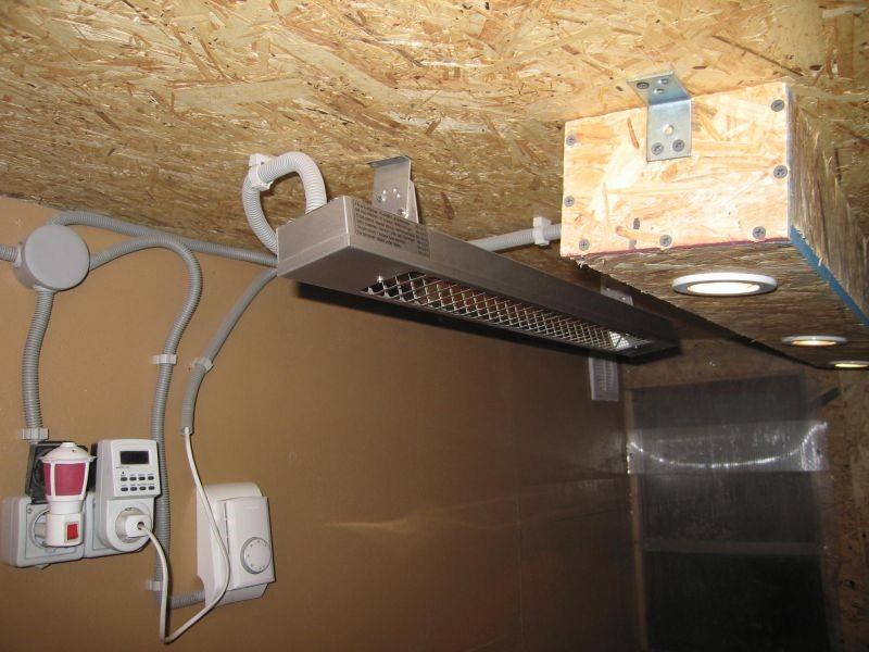 ИК обогреватель Energoinfra EIR 500 с автономным терморегулятором