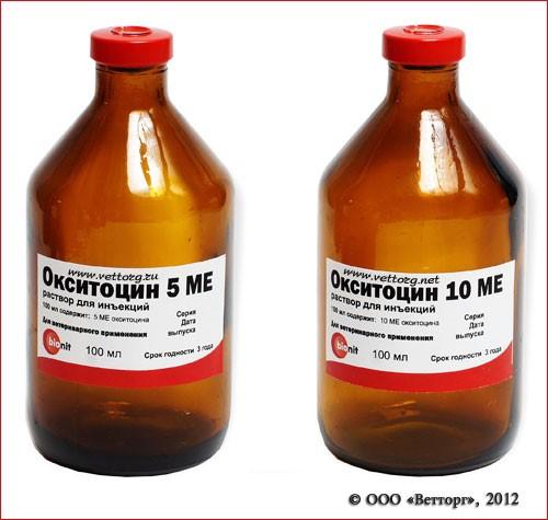 Окситоцин — гормональный инъекционный раствор для в/м, п/к, в/в введения