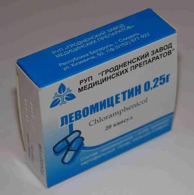 Левомицетин назначают молодняку коров при вирусной диарее