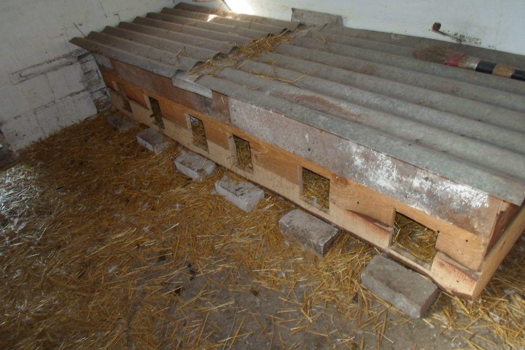 Пример гнездовых домиков