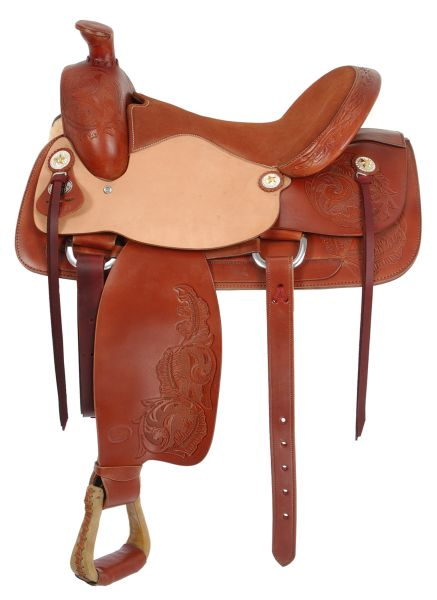 Изготовление седла для лошади
