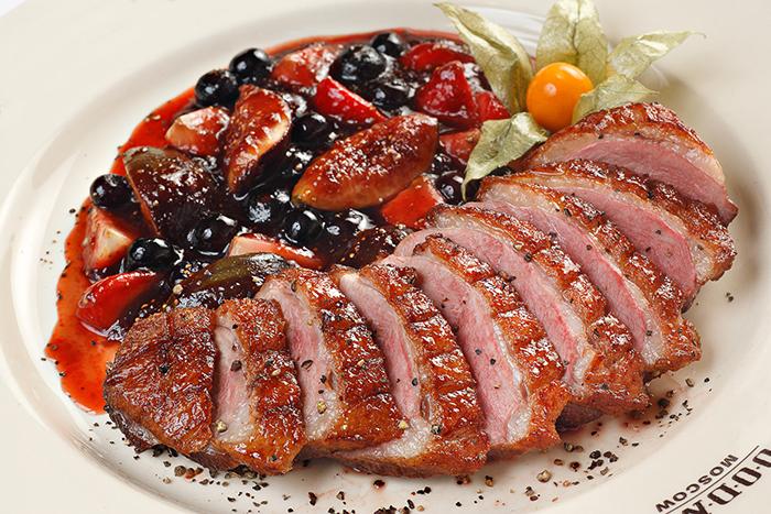 Утиное мясо